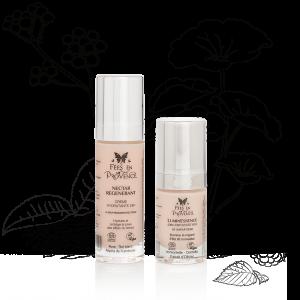 Très efficaces combinés notre crème hydratante et soin contour des yeux